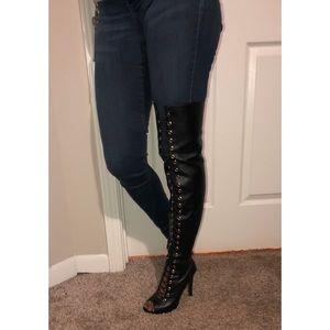 DollHouse thigh high boots 👢